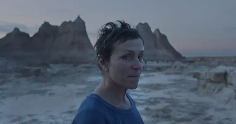 Frances McDormand in Nomadland.Photo Courtesy of Searchlight Pictures. © 2020 20th Century Studios All Rights Reserved