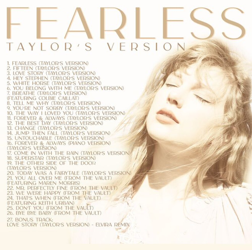 Album Fearless (Taylor's Version).