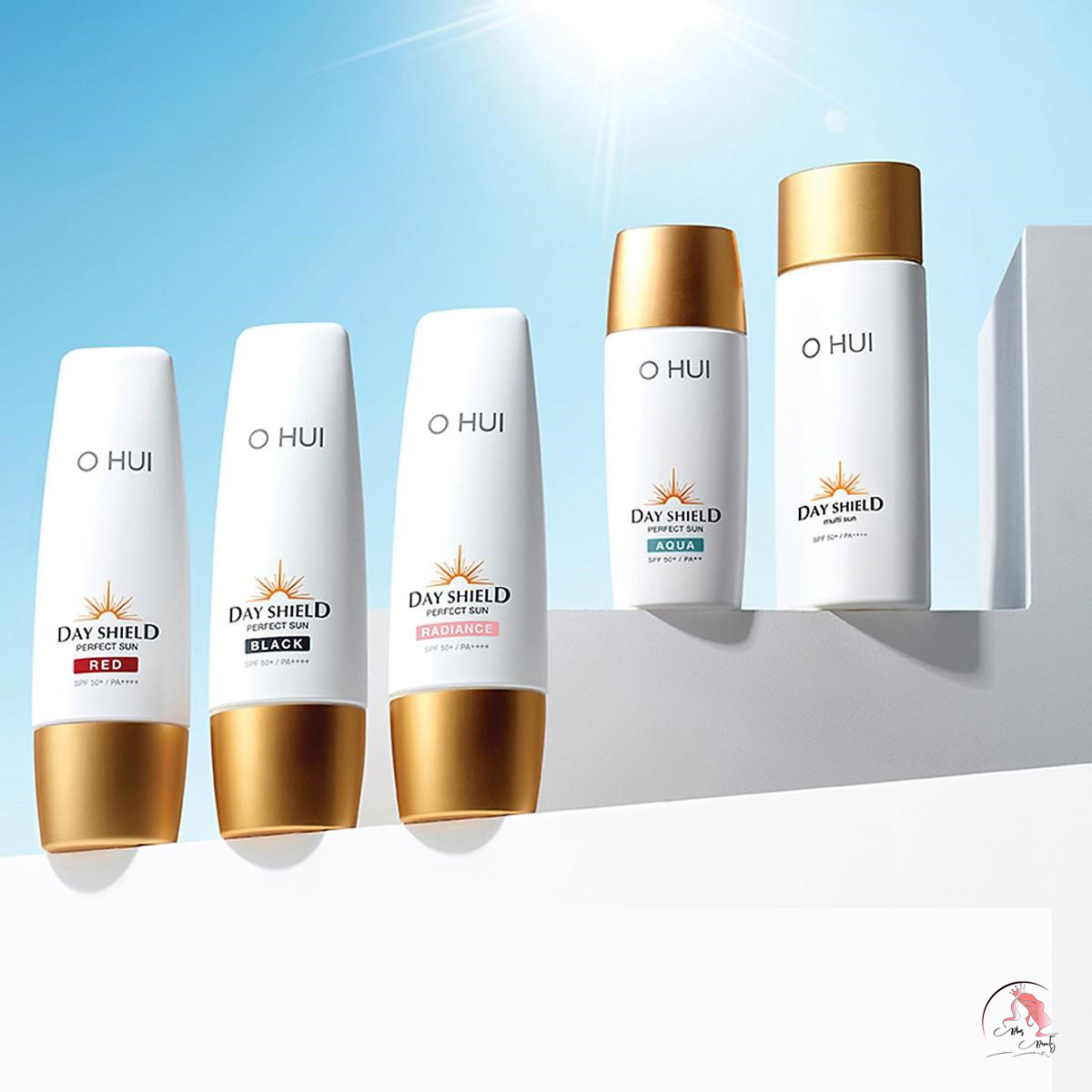 Kem chống nắng OHUI Day Shield Perfect Sun Red SPF